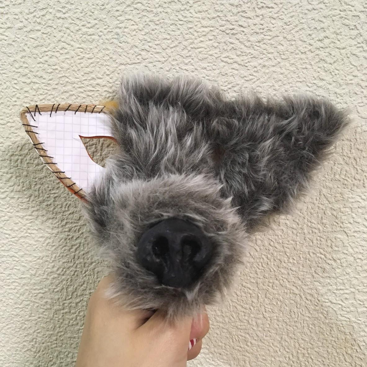How to make a wolf out of paper